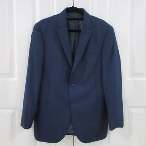 Calvin Klein Navy Blue Suit Jacket Size 40R